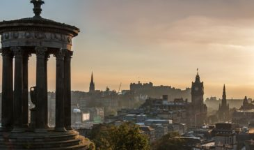 Edinburgh-Panorama-Schottland